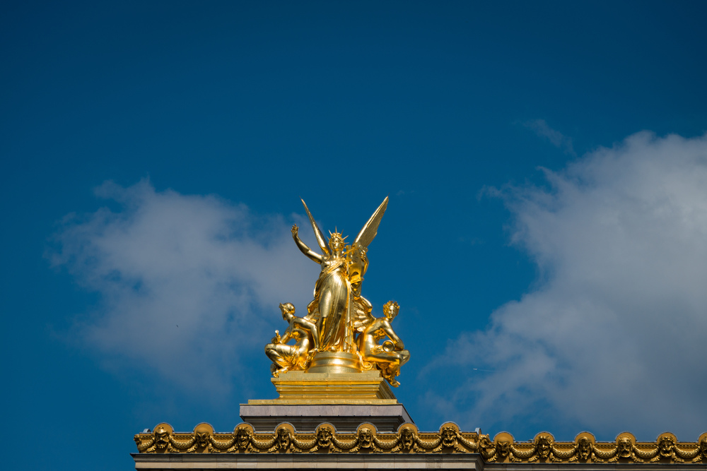 L'Harmonie (Harmony) atop the Paris Opera House