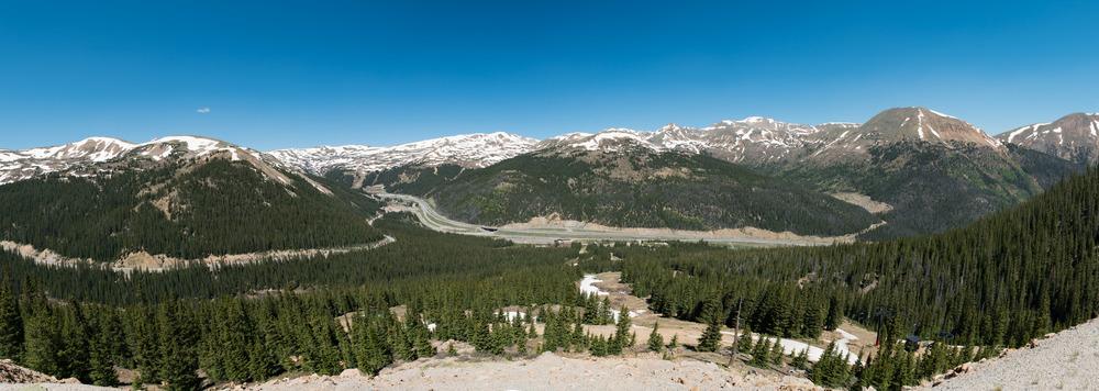 Pano of Loveland Pass