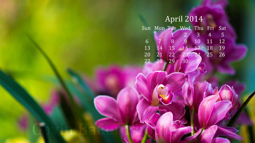 April 214 Calendar