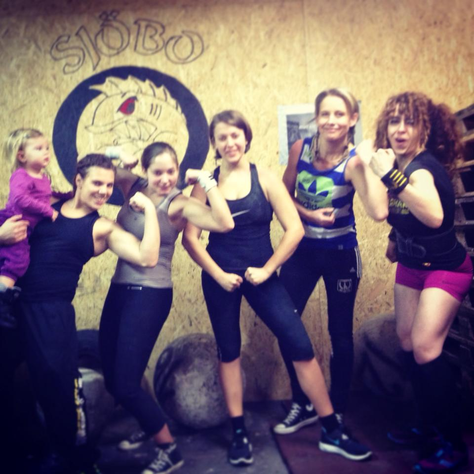 The girls of Sjobo Strongman!