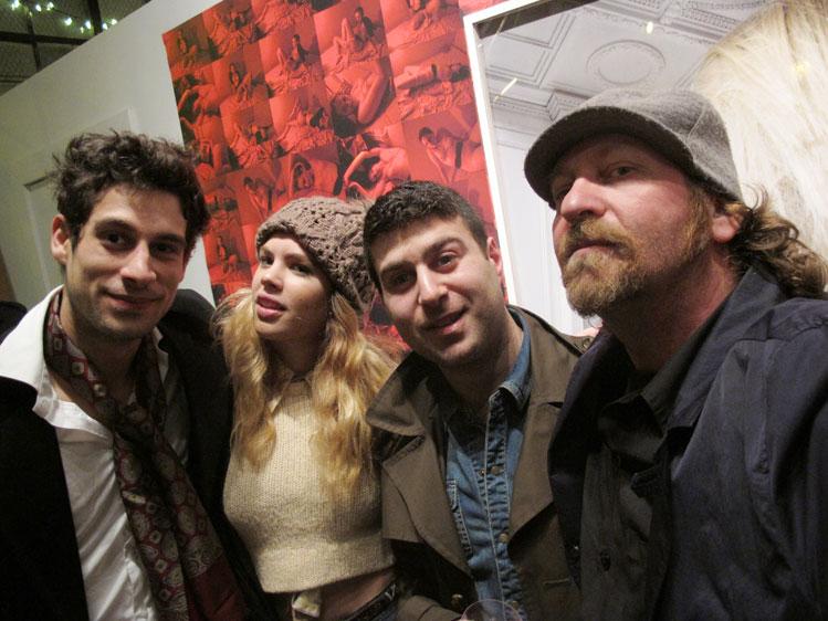 L to R: Augustin, Brigitte,Petros, Rafael
