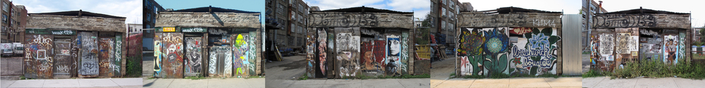The Bushwick Evolution 2005-2012    Archival inkjet print by © Rafael Fuchs