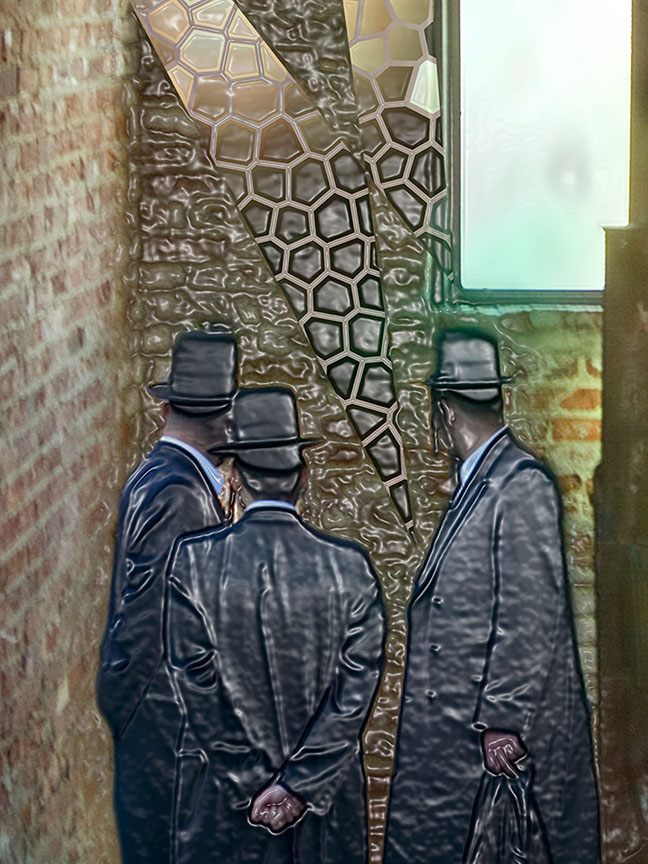 """Three LandLords"" by  Rafael Fuchs 2014. Archival giclee on Hahnemuhle paper. Size:30x40"" , Edition:1/7  Price: $3,800.  SALE: over (including frame)"