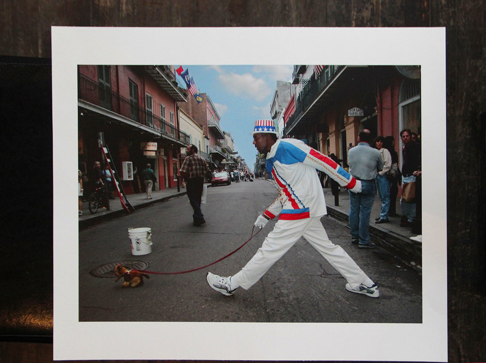 """Mime_New Orleans"" by Rafael Fuchs. 2005-2010. Archival giclee on Hahnemuhle. 15.5x21"""" Edition 3/15 . Price: $1,500. SALE: over"