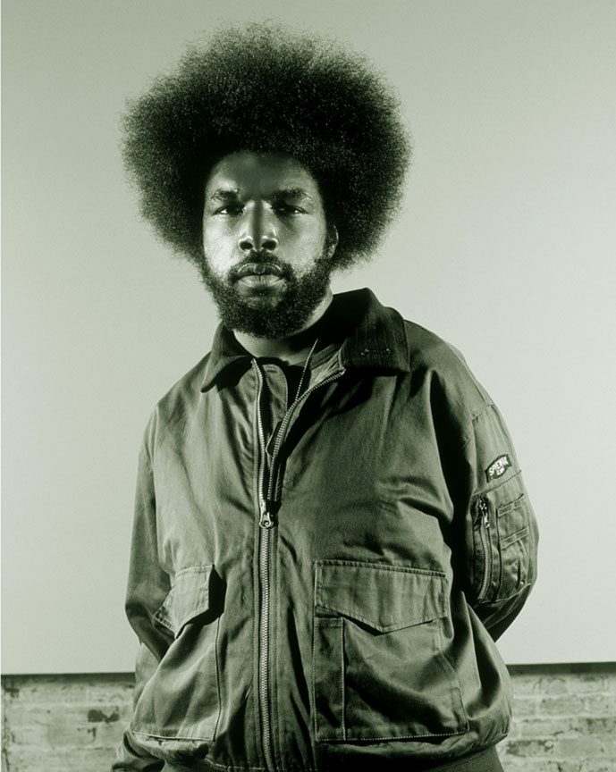 """QuestLove"" by Rafael Fuchs. Archival inkjet. 24x30"""" , Edition:1/7  Price: $1,800. SALE: over."