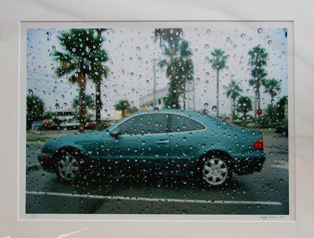 """Florida Rain"" by Rafael Fuchs. 2009. Archival inkjet .18x24"" Edition 2/25 . Price: $1,200. SALE: over"