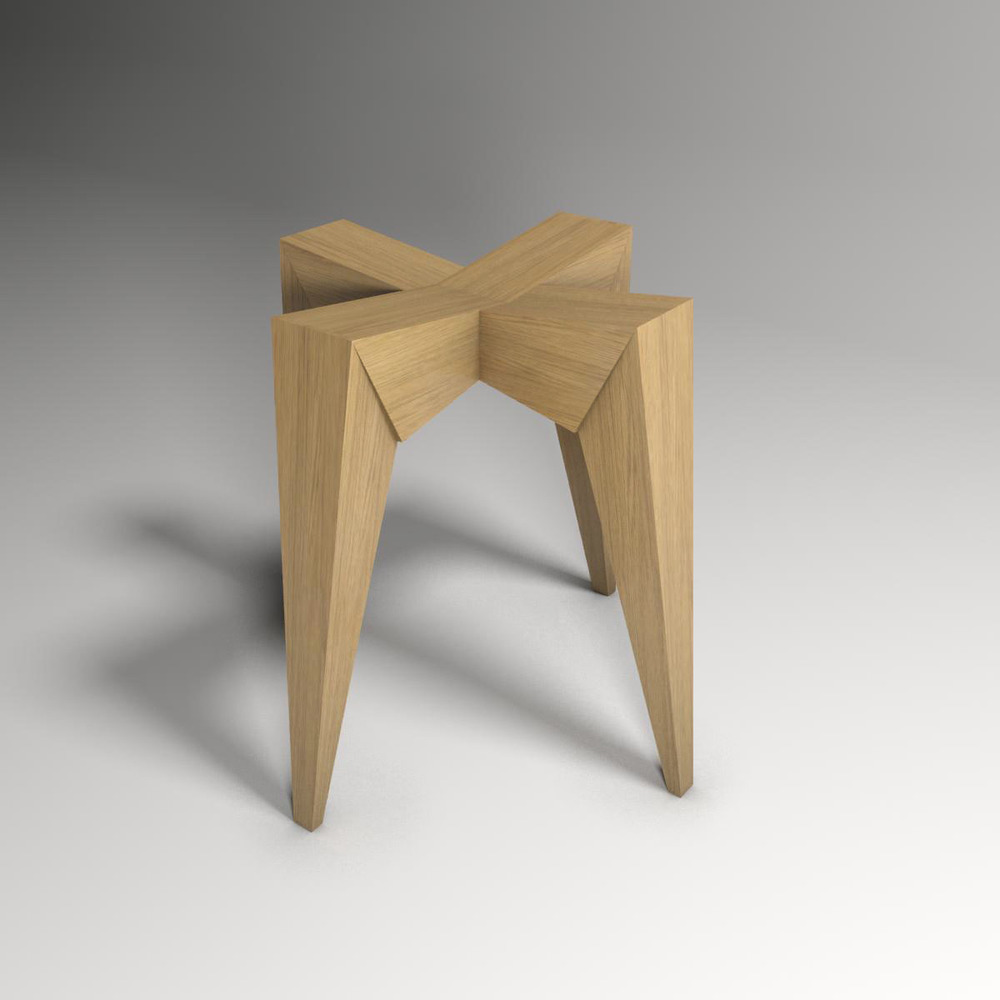 Render Image of proposed stool