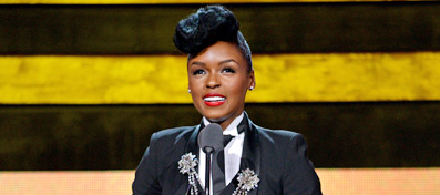 Janelle Monae was a maide when she began her career.