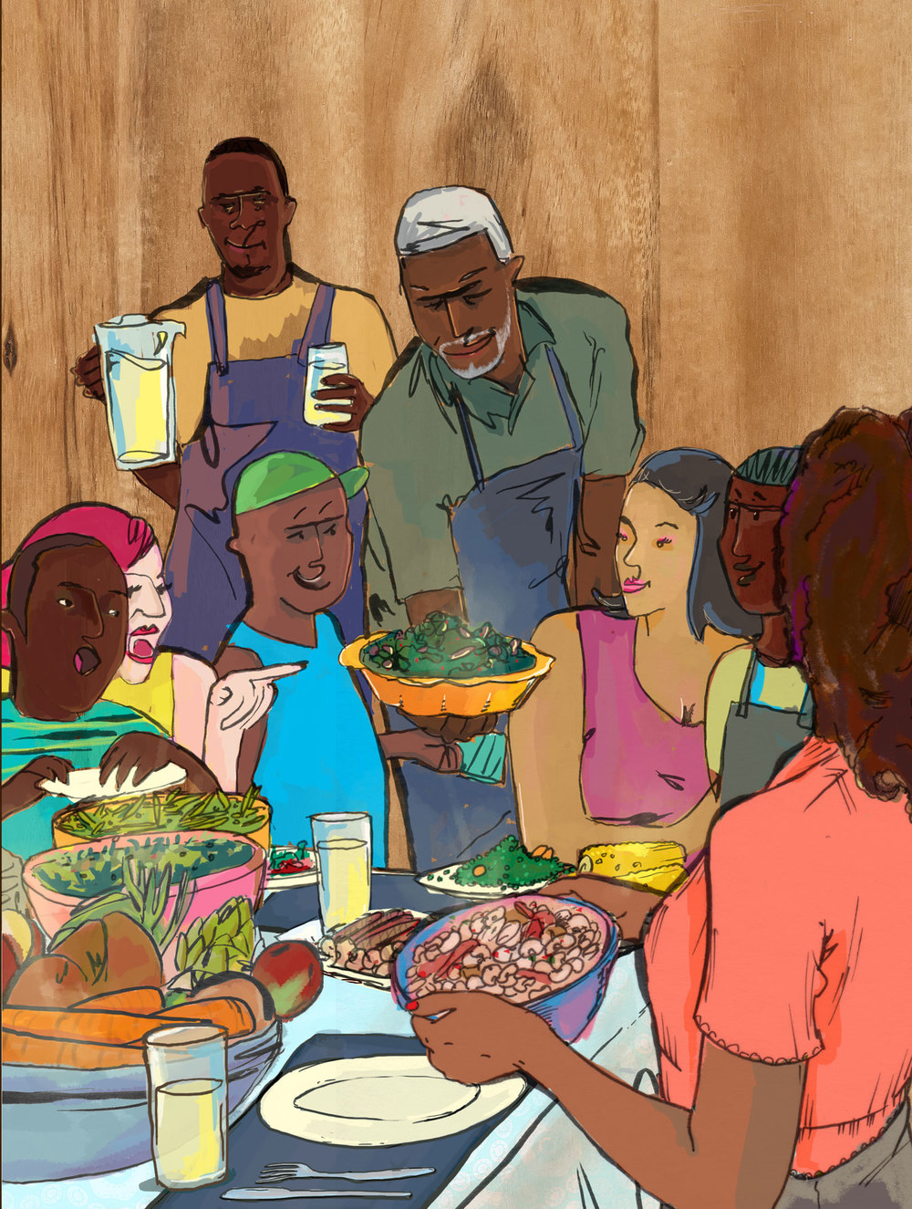 Image from Farmer Will Allen and the Growing Table