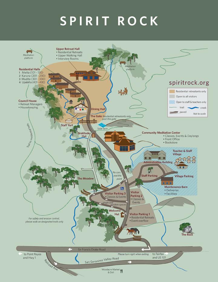 SPIRIT ROCK MEDITATION CENTER | map
