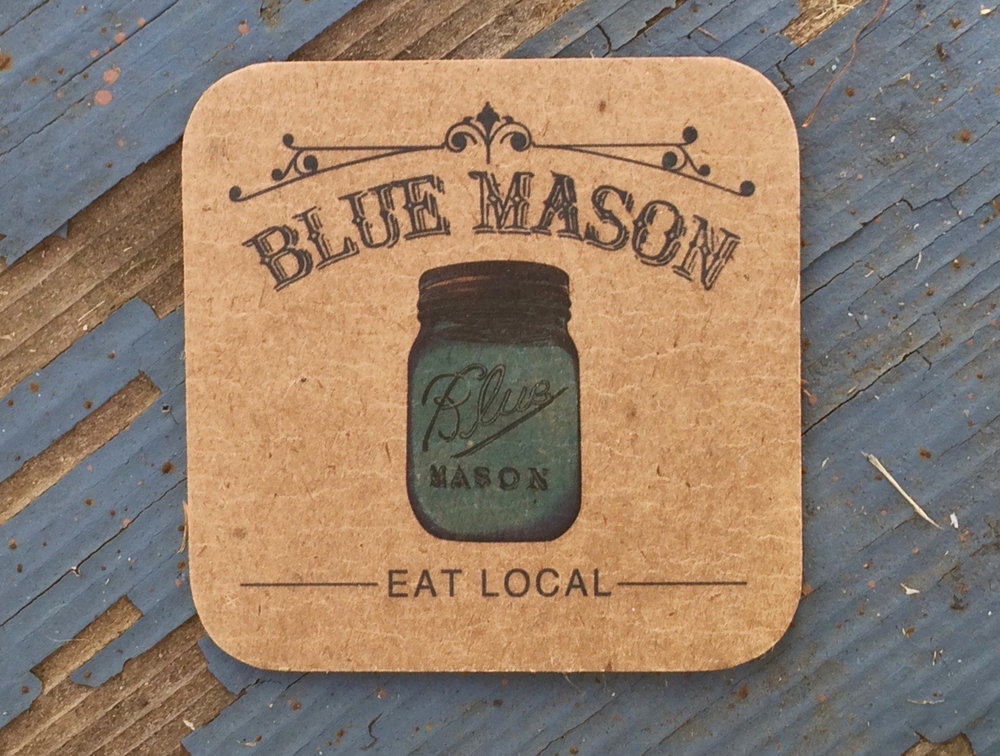 BLUE MASON CATERING | branding, styling, collateral
