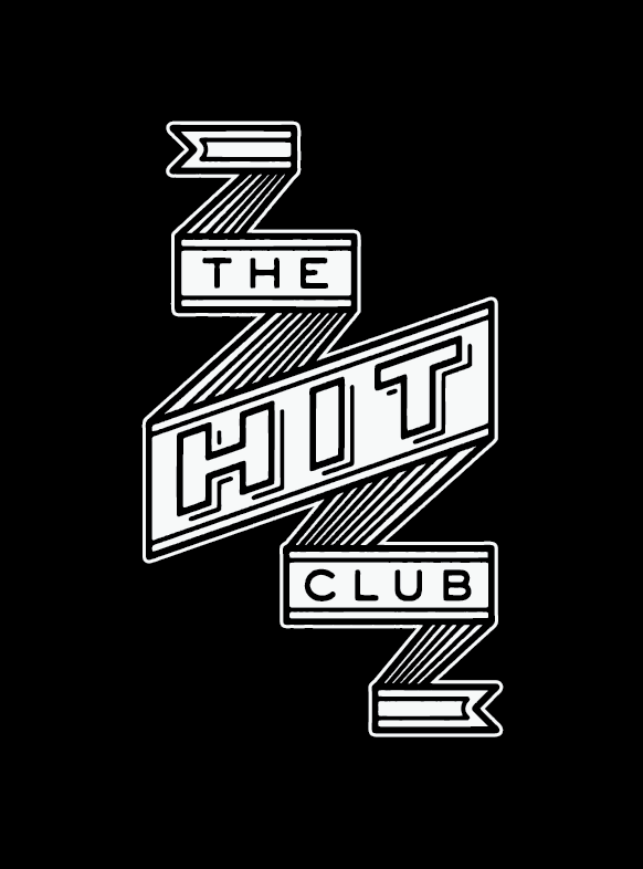 """THE HIT CLUB"" UNUSED LOGO OPTION"