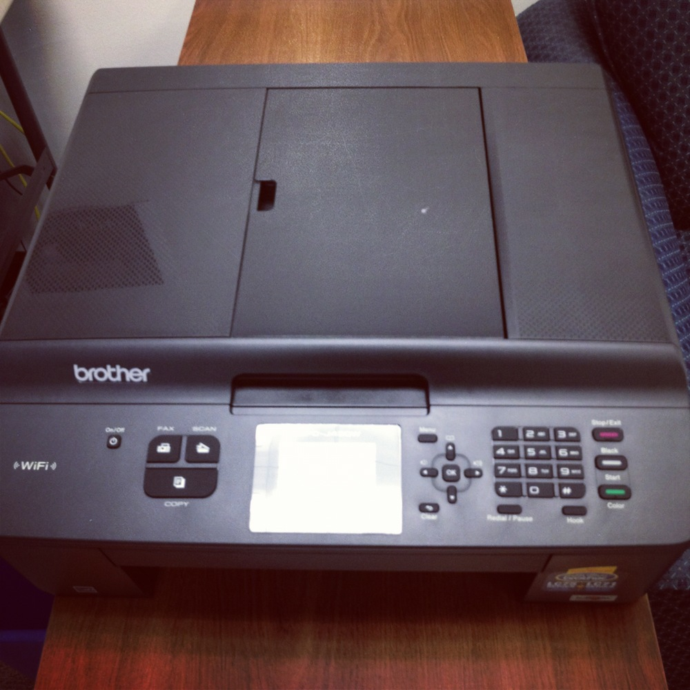 New Fax Machine