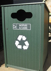 Downtown expands recycling on the streets