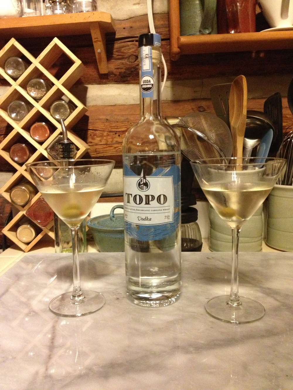 Topo Organic Local Vodka hits ABC Stores