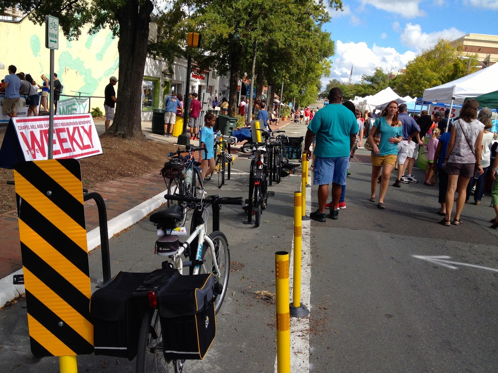 Biking Improvements Downtown & Festifall!