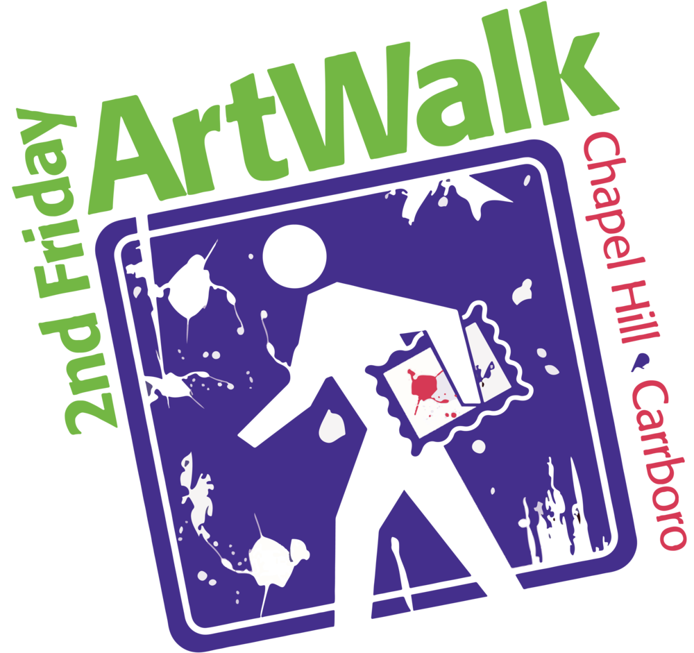 Explore Downtown Chapel Hill & Carrboro's Art Scene every 2nd Friday of the Month