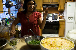 Vimala Rajendran, Curryblossom Cafe Owner and Chef
