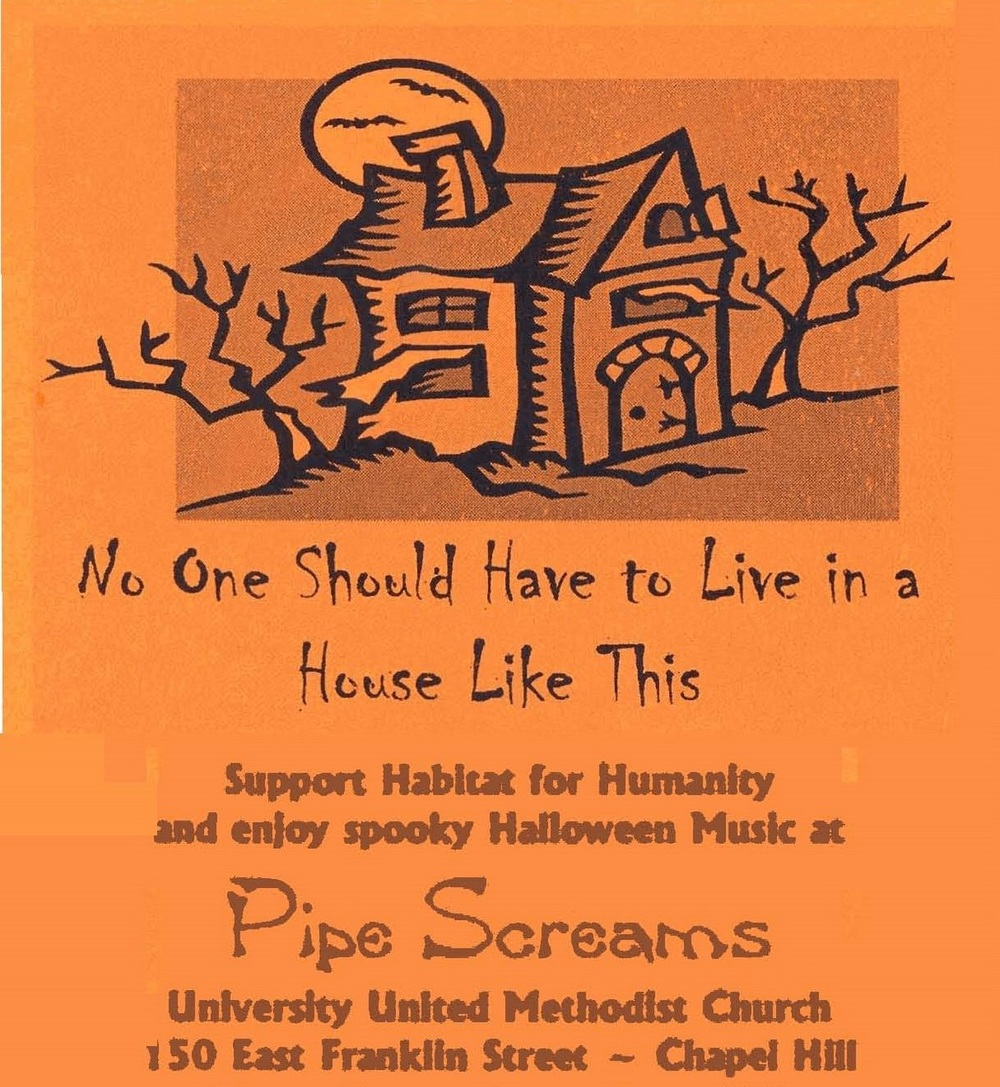 90503b49c Pipe Screams in the University United Methodist Church Spooky ...