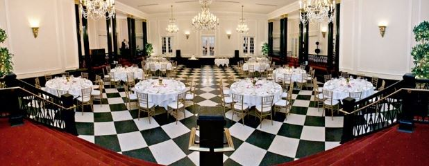 The Sugar Plum Fairy Tea Party in the Old Well Ballroom at the historic Carolina Inn