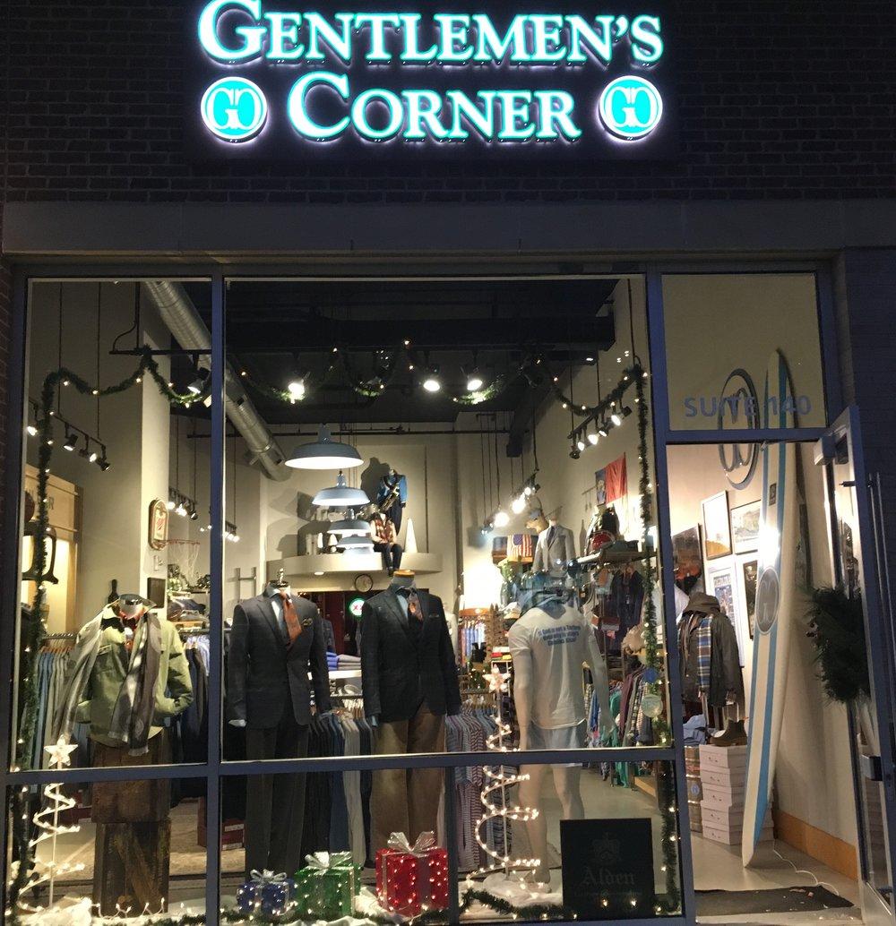 Gentelmen's Corner