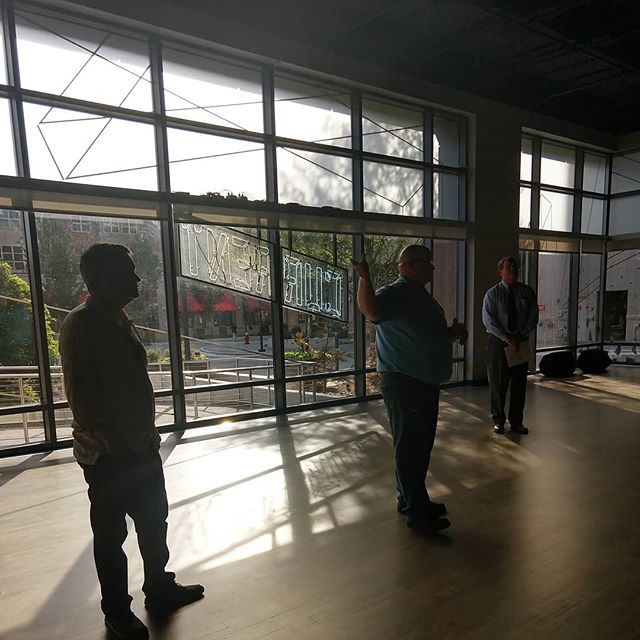 @current_unc opened their doors to @triangleartworks last week for their Triangle Emerging Arts Leaders Mixer! Thanks for the great tour!