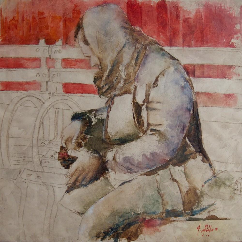 Giuseppe_Rizzo_Schettino (I),_Clochard_newyorchese._Portrait_of_Invisible_(2015),_oil on canvas,_cm_50x50.jpg
