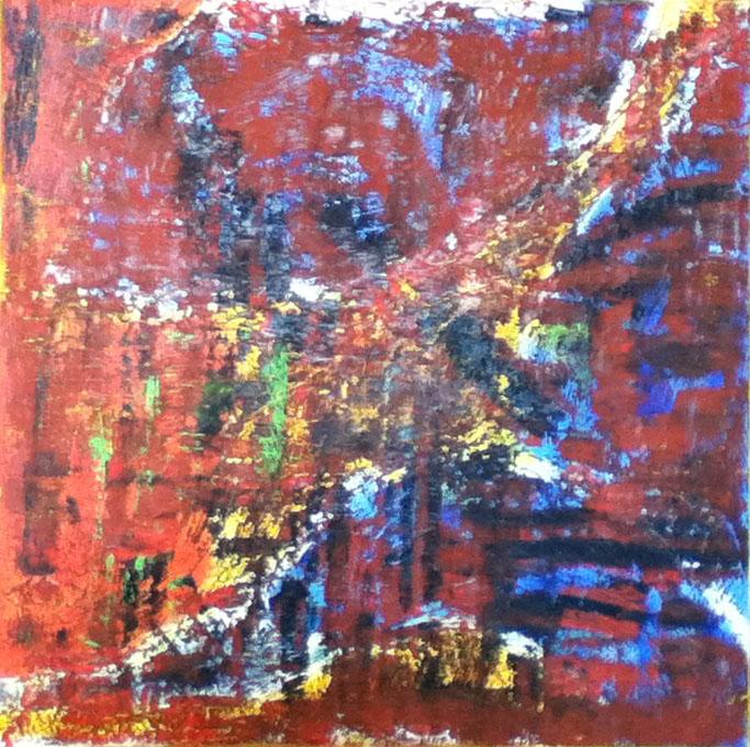 Maria Ferrara (I). Schegge di luce 2 (2013), oil on canvas, cm 50x50.jpg