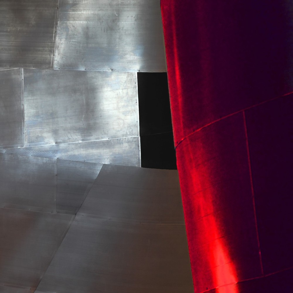 Michael Sachter (CA), Silver Black Marooon (2015), photo on paper, cm 50x50.jpg