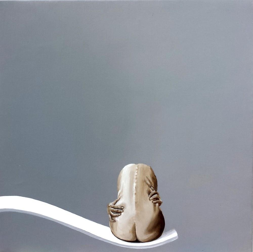 Gaby Muhr (A), Self-Love (2016), acrylic on canvas, cm 50x50.jpg