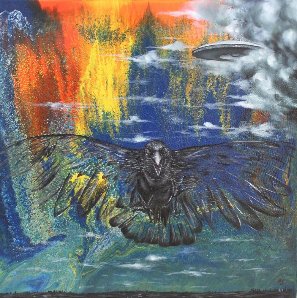 Erdinç Sakin (TR), Fear Will Come (2016), oil on canvas, cm 50x50.JPG