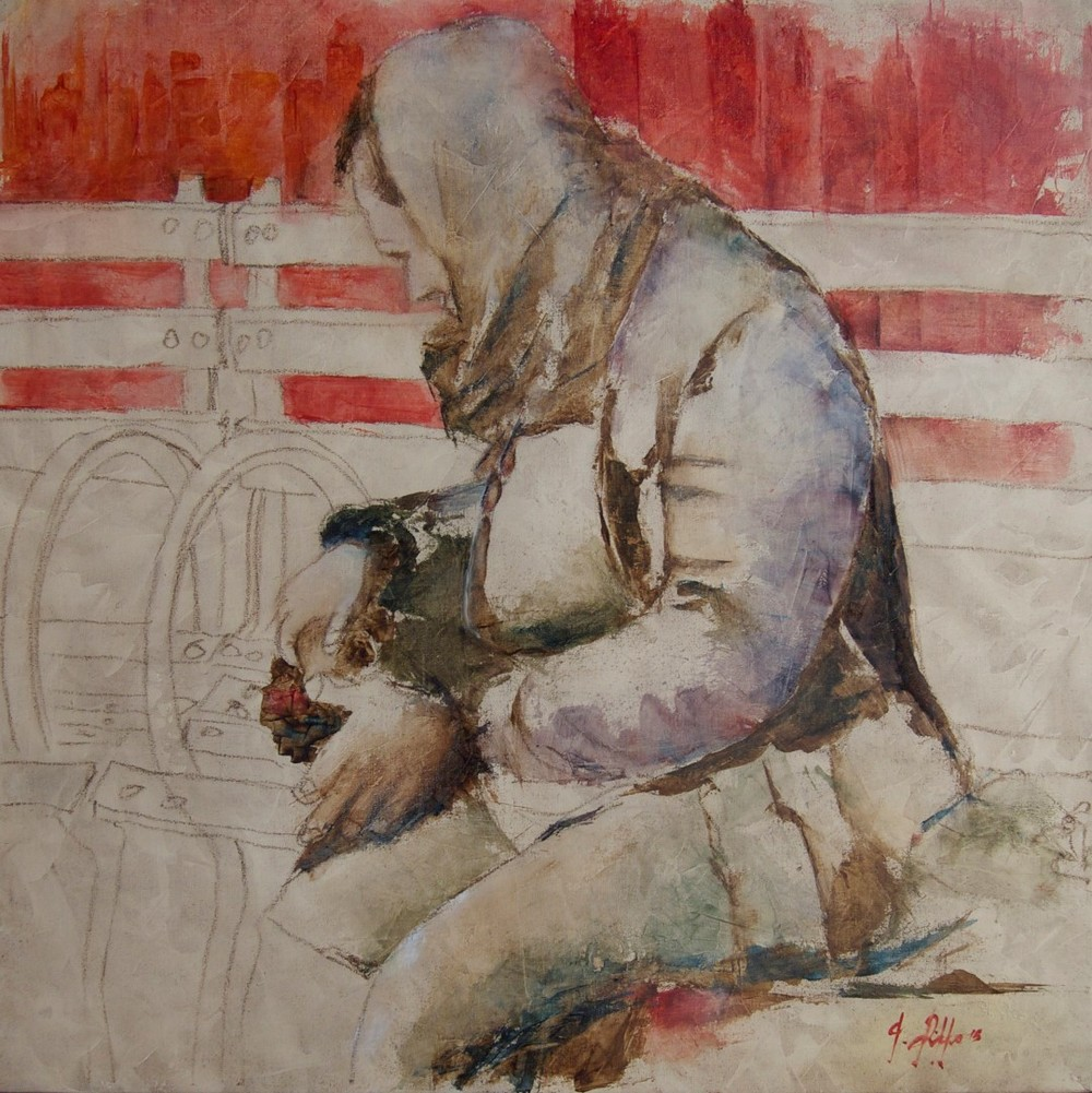 Giuseppe_Rizzo_Schettino (I),_Clochard_newyorchese._Portrait_of_Invisible_(2015),_oil on canvas,_cm_50x50.jpg