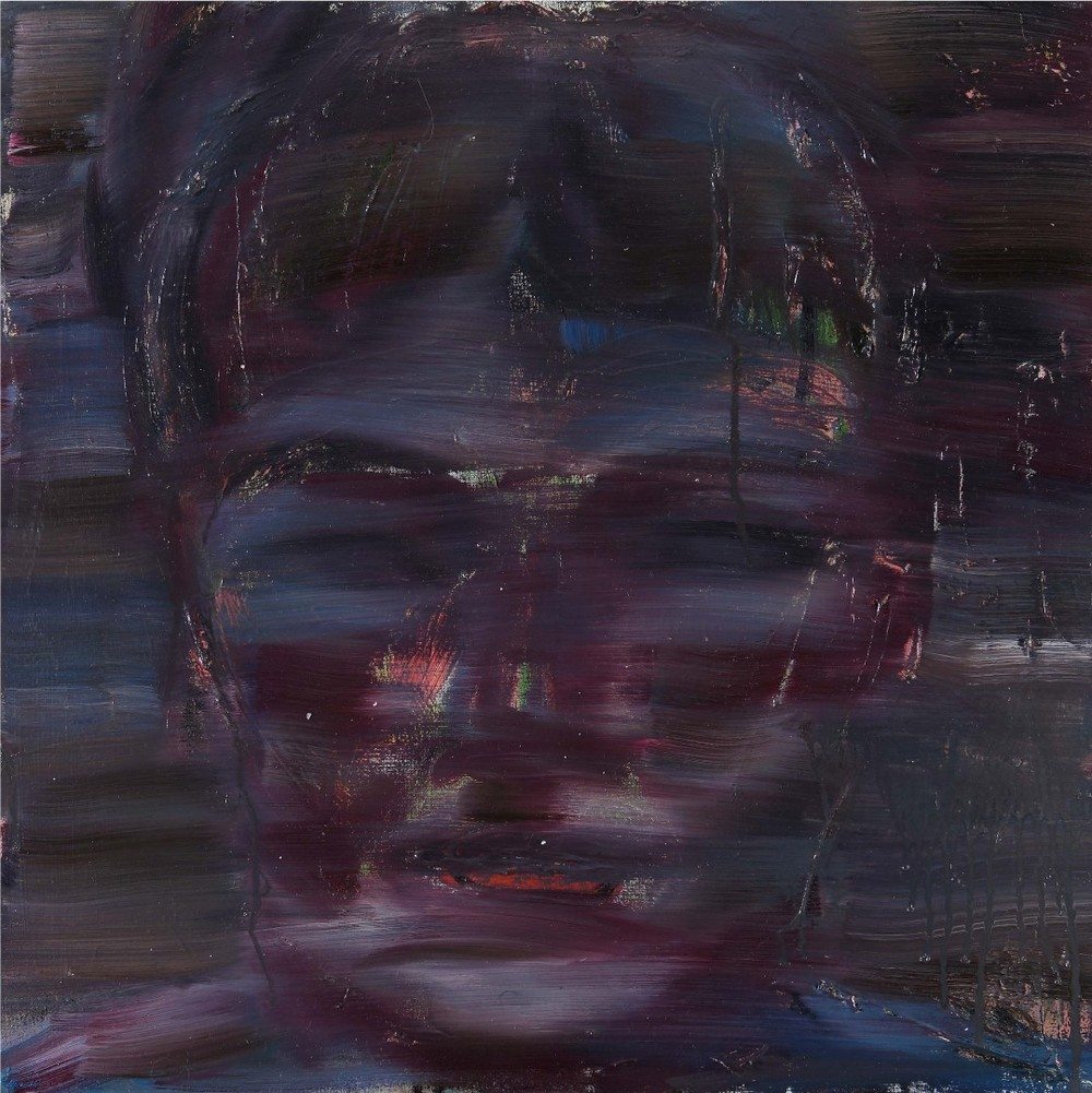 Amir Yeke (IR-I), Pittura 1 (2009), oil on canvas, cm 50x50.jpg
