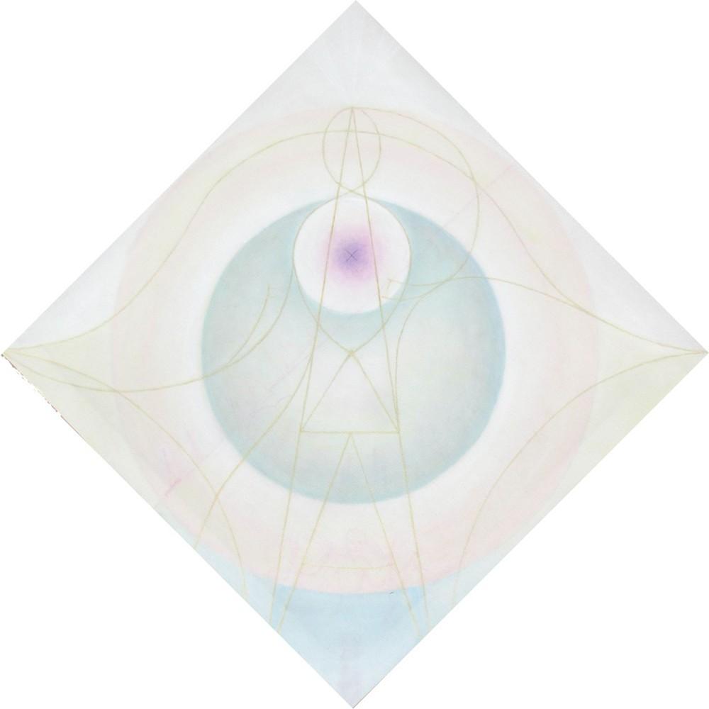 Gian Luigi Castelli (I), Umano e Divino (2016), ooil on canvas, cm 50x50.jpg