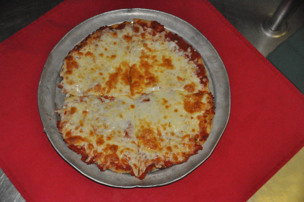 Plain 4 Cut Bar Pizza