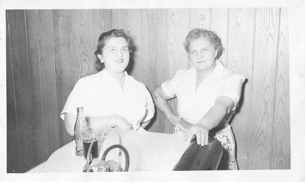 rosalie and mary carbone in the first carbone's restaurant.jpg