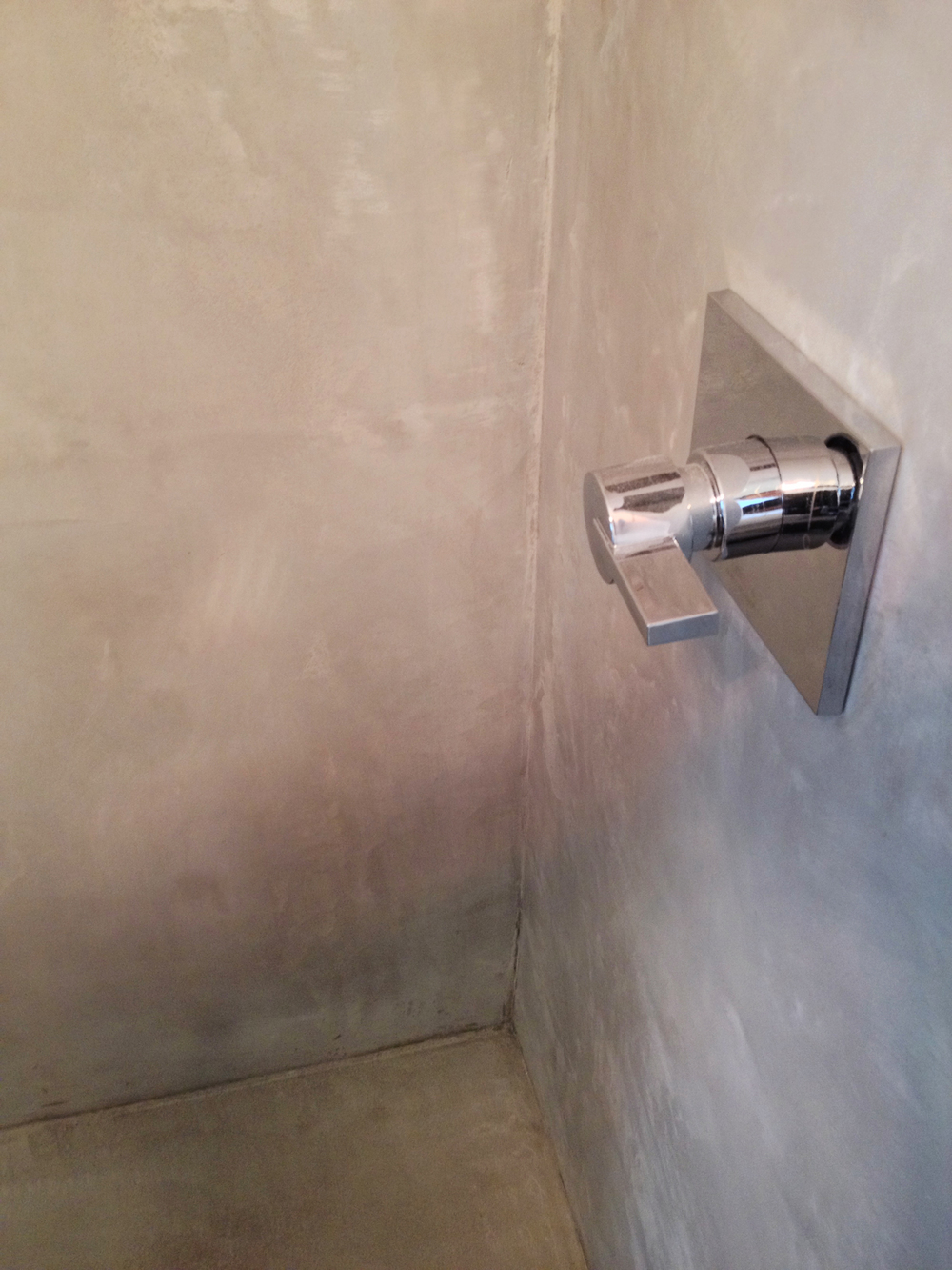 overlay for shower walls.