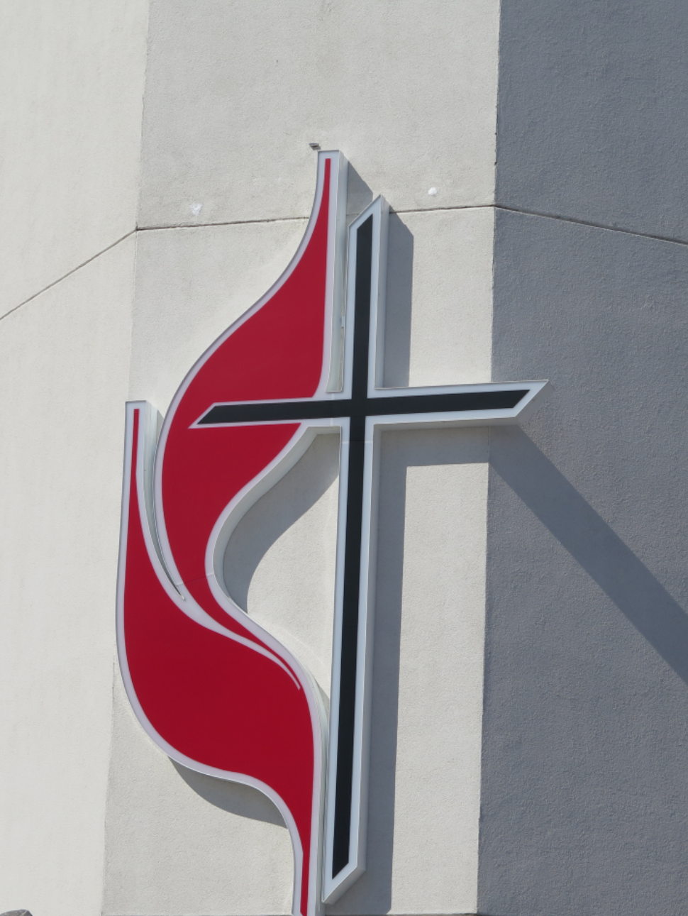 Here is our brand-new Cross & Flame emblem. Click the photo above to see more pictures of this project!