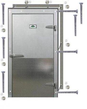 Custom Cooler/Freezer Doors  Starting at $1,950