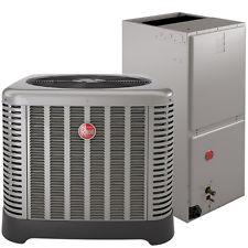 Rheem 15 SEER Heat pump    $4,450
