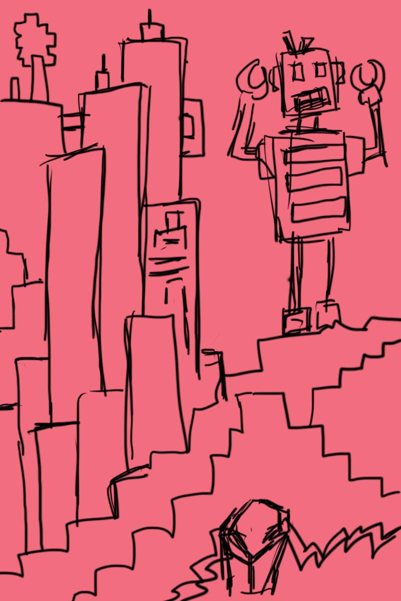rough sketches via Bamboo Create