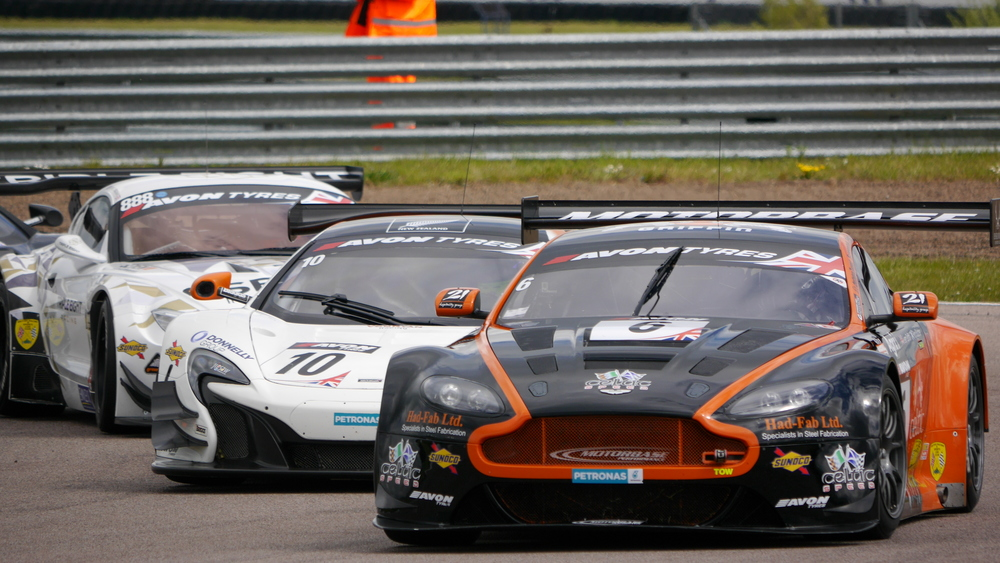 Together through Tarzan - British GT 2015 @ Rockingham