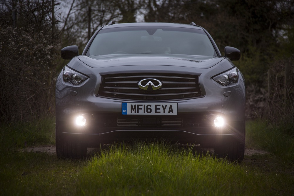 The front of the QX70 divides opinion - awesome or awful? I like it...