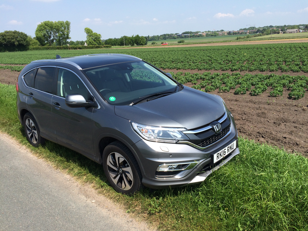 THe wonderfully capable Honda CR-V