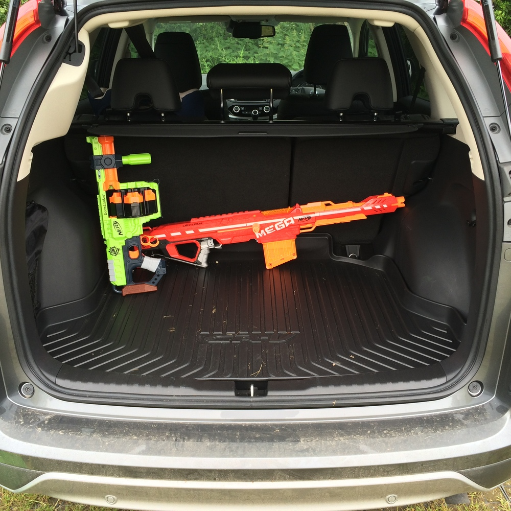 Lack of optional nerf gun-rack a missed opportunity for Honda