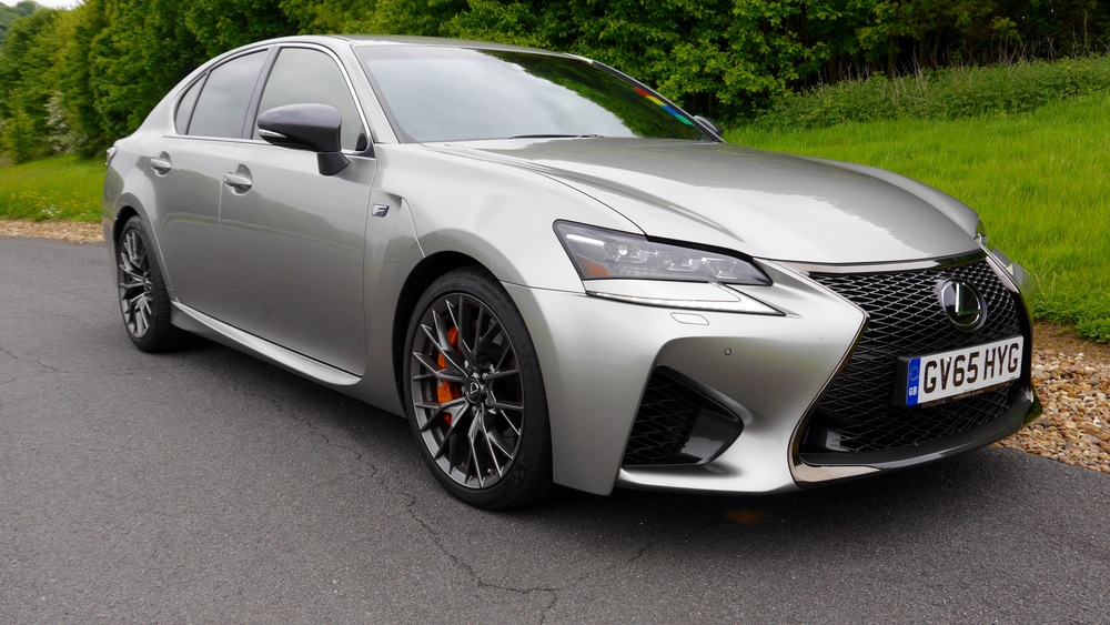 First Drive Lexus Gs F Motoring Podcast