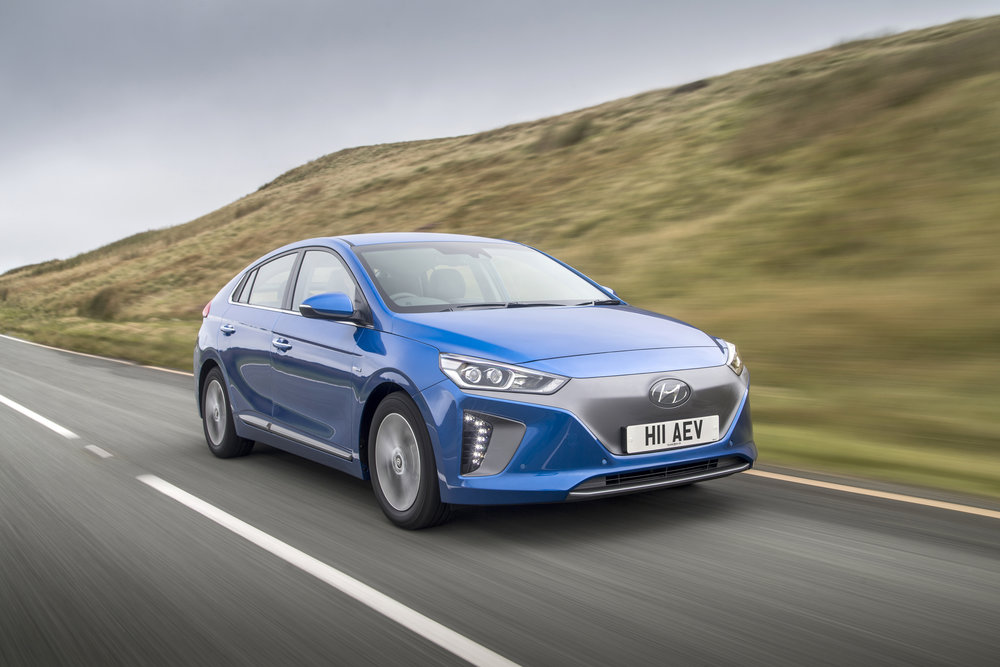 Hyundai Ioniq EV - It's even the right colour