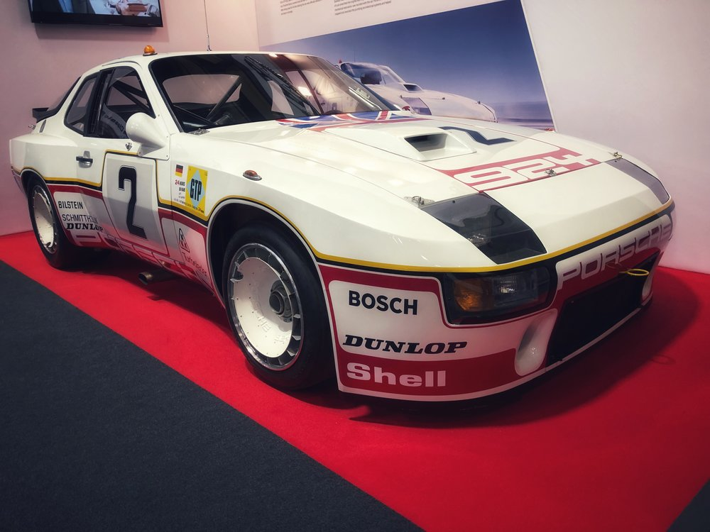 Porsche 924 Carrera GT - 6th at Le Mans in 1980