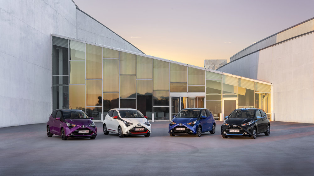 The 2018 Aygo comes in many flavours