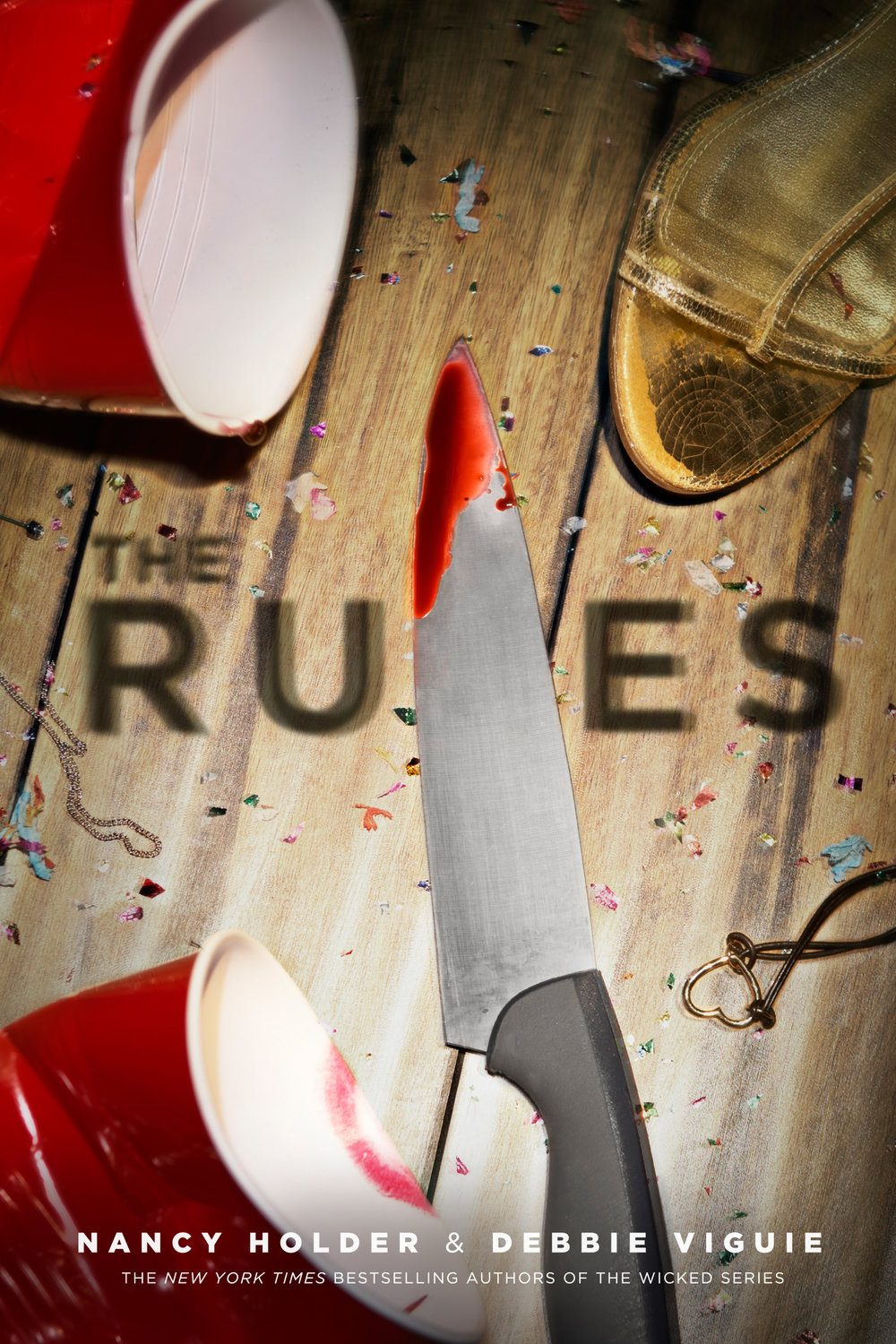 The Rules by Nancy Holder and Debbie Viguie Designed by Ben Mautner for Knopf Art Directed by Alison Impey